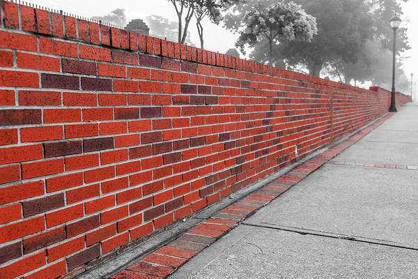 Photograph - Red Brick by Doug Camara