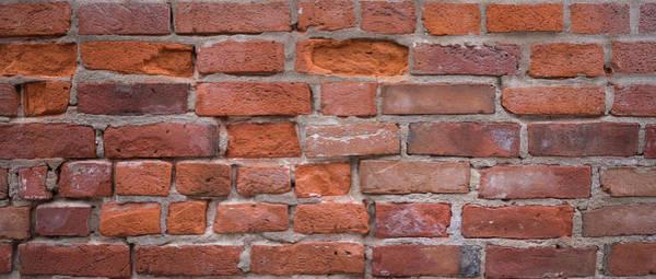 Wall Art - Photograph - Red Brick Wall by Steve Gadomski