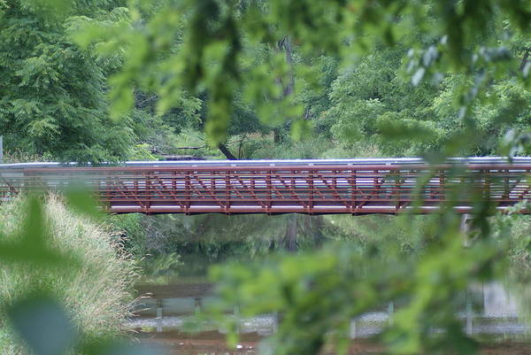 Wall Art - Photograph - Red Bridge by Heather Green