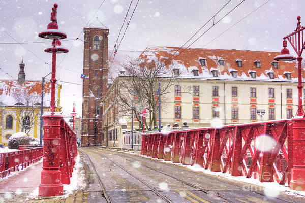 Wall Art - Photograph - Red Bridge by Juli Scalzi