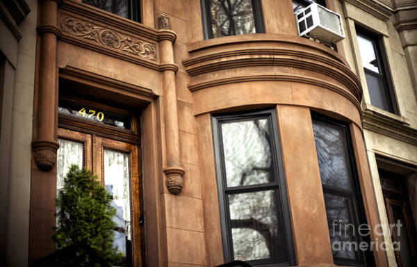 Photograph - Red Brownstone by John Rizzuto