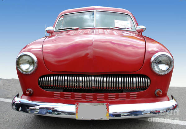 Photograph - Red Car by Bill Thomson