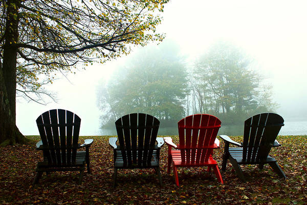 Wall Art - Photograph - Red Chair by Kevin Wheeler