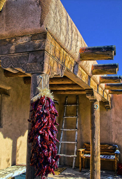 Photograph - Red Chillies At New Years by Charles Muhle