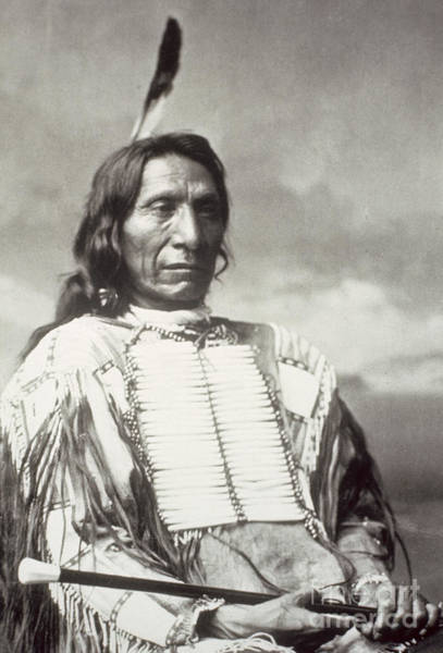 Wall Art - Photograph - Red Cloud Chief by Charles Milton Bell