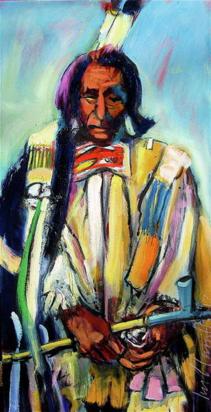 Painting - Red Cloud by Les Leffingwell