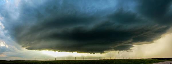 Photograph - Red Cloud Nebraska Supercell 003 by NebraskaSC