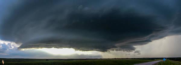 Photograph - Red Cloud Nebraska Supercell 008 by NebraskaSC