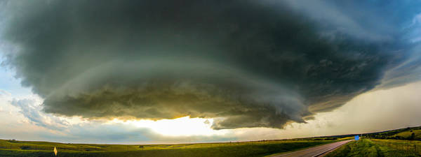 Photograph - Red Cloud Nebraska Supercell by NebraskaSC