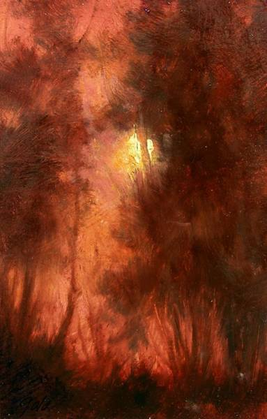 Impressionism Wall Art - Painting - Red Dawn Ridgefield Refuge by Jim Gola