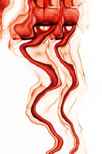 Wall Art - Digital Art - Red Demon by Michal Boubin