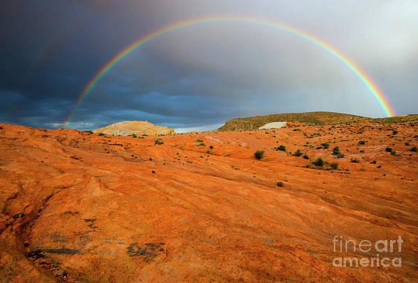 Wall Art - Photograph - Red Desert Rain by Mike Dawson