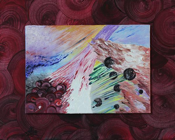 Novelties Painting - Red Door by April Zaidi