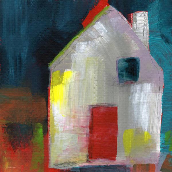 Painting - Red Door- Art By Linda Woods by Linda Woods