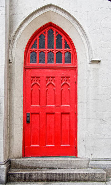 Photograph - Red Door by Christopher Holmes