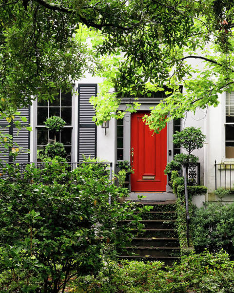 Photograph - Red Door by Nicholas Blackwell