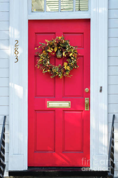 Photograph - Red Door On East Bay Street by Dale Powell