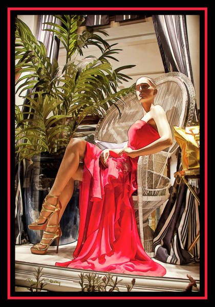 Photograph - Red Dress - Chuck Staley by Chuck Staley