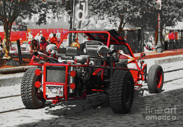 Photograph - Red Dune Buggy by Patti Whitten