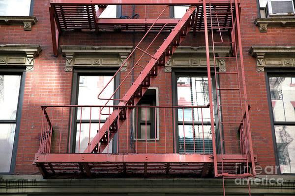 Photograph - Red Escape by John Rizzuto