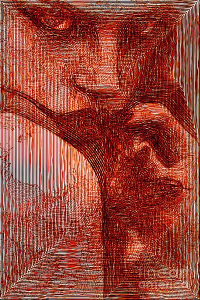 Digital Art - Red Eyes by Rafael Salazar