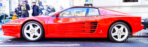 Photograph - Red Ferrari by Colin Rayner
