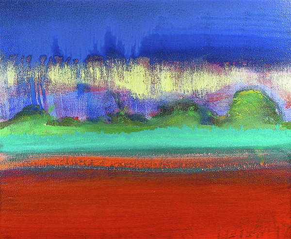 Painting - Red Field by Les Leffingwell
