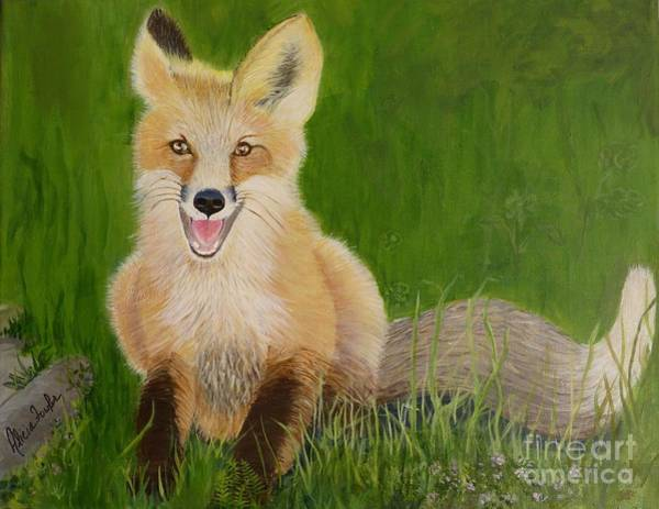 Painting - Red Fox 2 by Alicia Fowler
