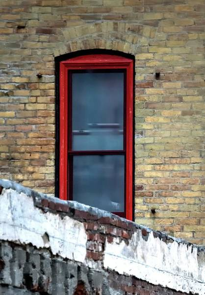 Photograph - Red Frame 2 by Jerry Sodorff