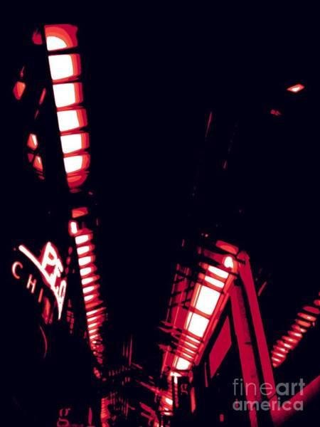 Photograph - Red Geometric by Jenny Revitz Soper