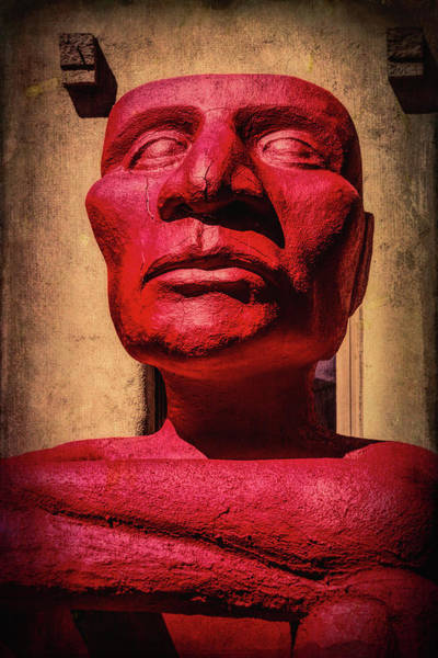 Wall Art - Photograph - Red God Of No Fear by Garry Gay