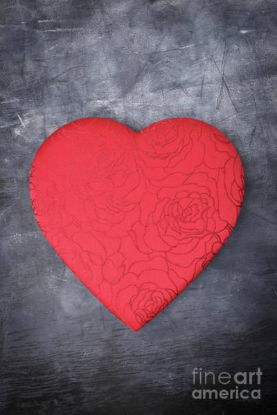 Wall Art - Photograph - Red Heart Love by Edward Fielding