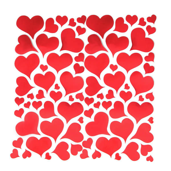 Decoration Day Digital Art - Red Hearts by Art Spectrum