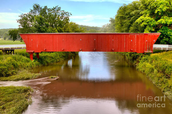 Photograph - Red Hogback Reflections by Adam Jewell