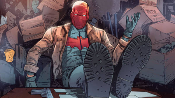 Red Digital Art - Red Hood And The Outlaws by Maye Loeser
