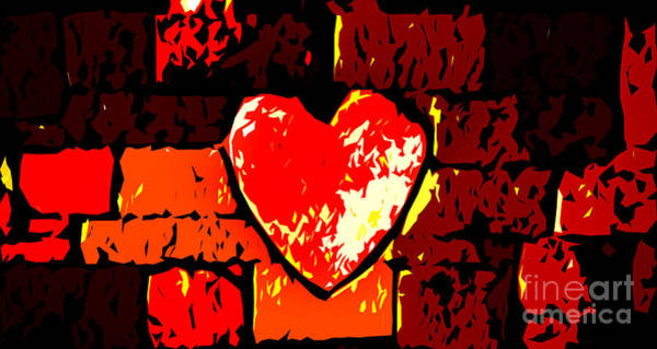 Photograph - Red Hot Love by Michael Arend
