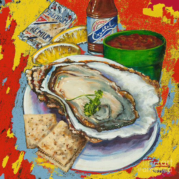 Painting - Red Hot Oyster by Dianne Parks