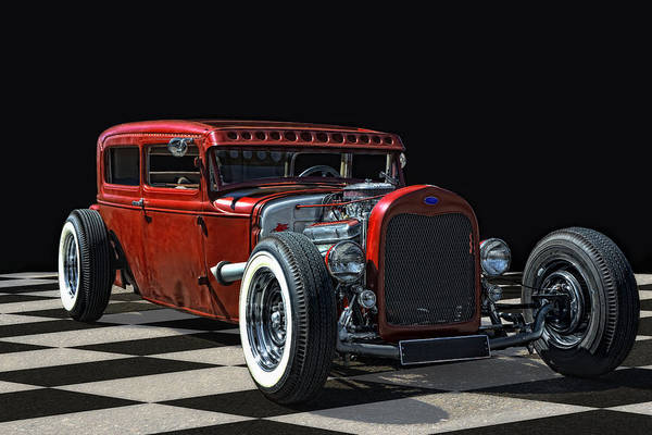 Wall Art - Photograph - Red Hot Rod by Joachim G Pinkawa