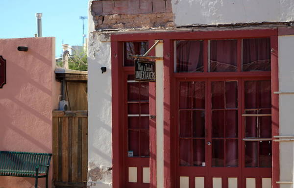 Photograph - Red Hots Door Frame by Colleen Cornelius