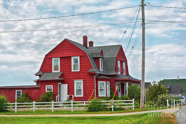 Photograph - Red House by Tatiana Travelways