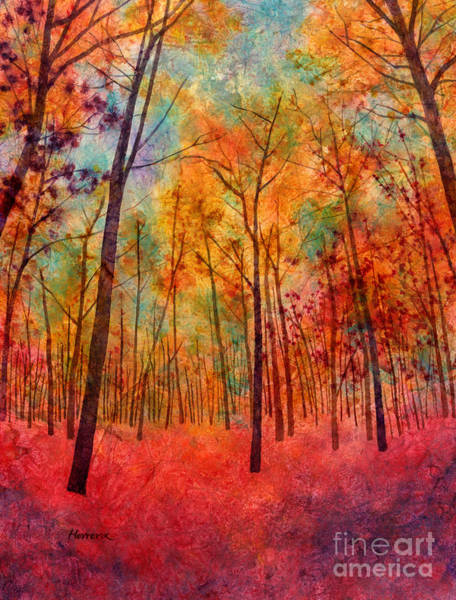 Painting - Red Hue by Hailey E Herrera