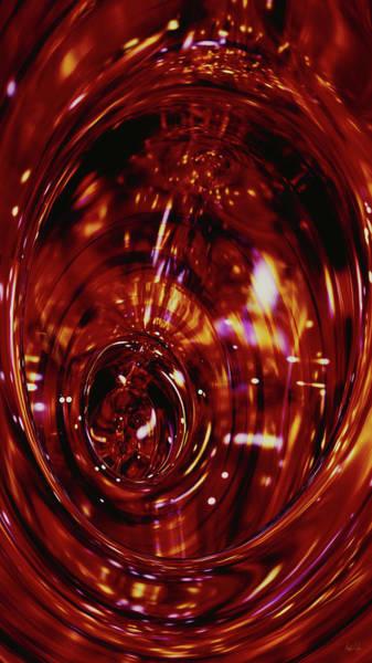 Digital Art - Red Inside by Matt Lindley