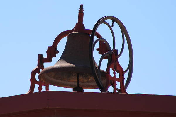 Photograph - Red Iron Bell by Colleen Cornelius