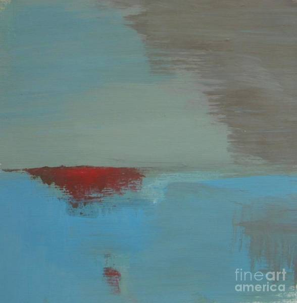 Antic Wall Art - Painting - Red Island by Vesna Antic