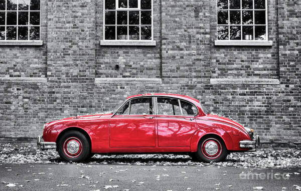 Photograph - Red Jag by Tim Gainey