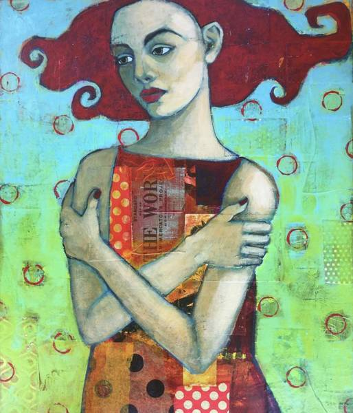 Wall Art - Painting - Red by Jane Spakowsky