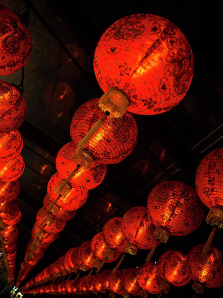 Photograph - Red Lantern by Andrew Kow
