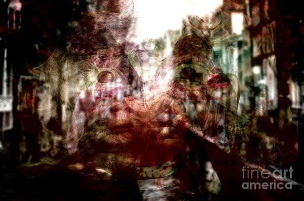 Photograph - Red Light Nights by John Rizzuto