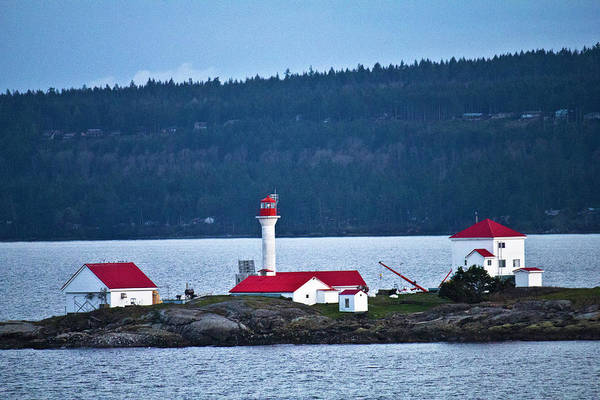 Photograph - Red Lighthouse by Donna L Munro