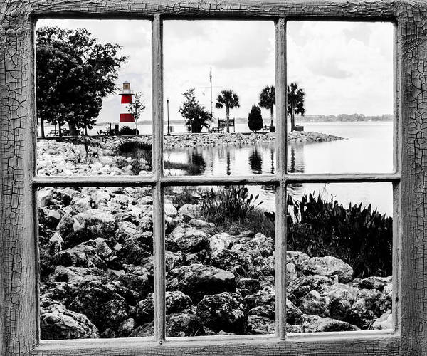 Photograph - Red Lighthouse by Randy Sylvia